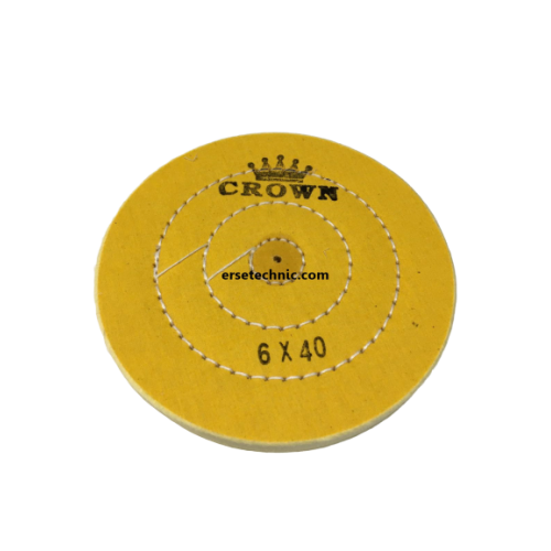Sarı Dikişli Cila Bezi Crown 6x40
