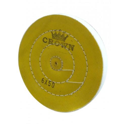 Sarı Dikişli Cila Bezi Crown 6x50