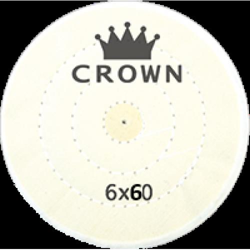 Beyaz Dikişli Cila Bezi Crown 6x60
