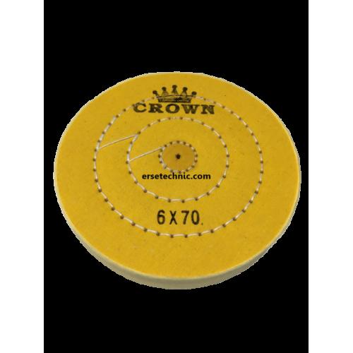 Sarı Dikişli Cila Bezi Crown 6x70