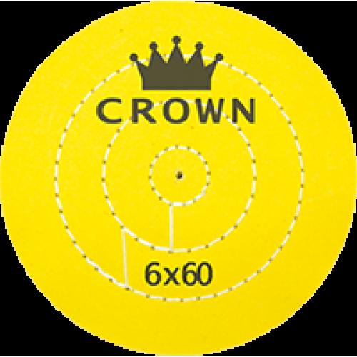 Sarı Dikişli Cila Bezi Crown 6x60