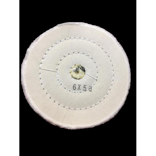 Beyaz Dikişli Cila Bezi Erpol Standart 6x50