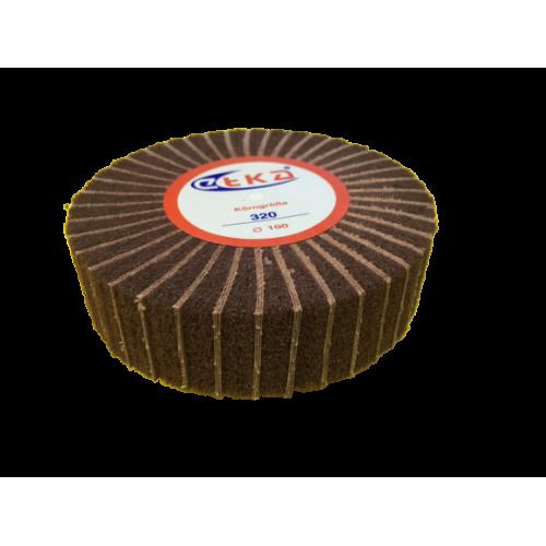 Kahverengi Broseli Zımpara Etka 30mm