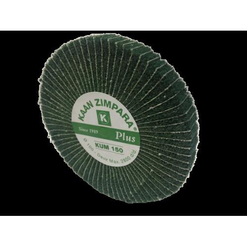 Yeşil Broseli Zımpara Kaan PLUS 15mm