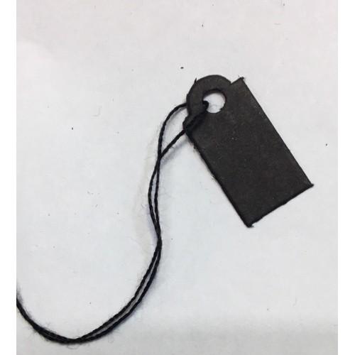 İpli Etiket Siyah 10x20mm